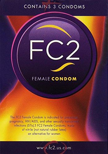 Condón femenino FC - cantidad - 3 Pack