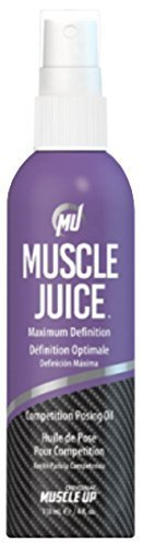 Competencia de jugo muscular posando aceite, máxima definición, 4 fl oz (118,5 ml) por belleza Pro Tan