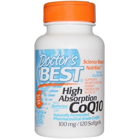 Doctor's Best Alta absorción CoQ10 100 mg, 120 CT