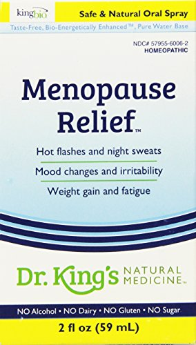 Alivio de la menopausia de Medicina Natural del Dr. King, 2 onzas de líquido