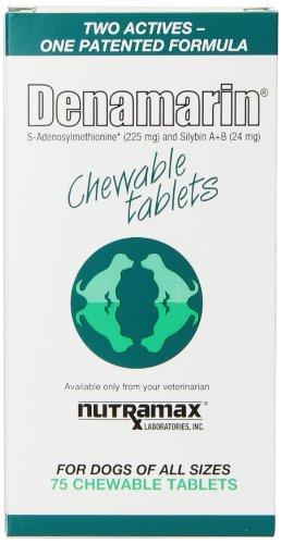 Nutramax Denamarin masticables, cuenta 75
