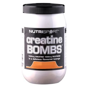 (Pack 2) creatina - Nutrisport - las bombas NSP-PMCBO naranja | de 50 | PACK 2 PAQUETE
