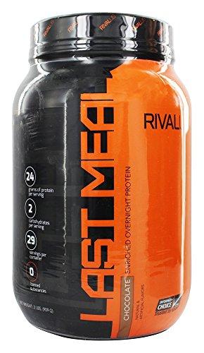 Rivalus - última comida enriquecida proteína nocturna Chocolate - 2 libras.