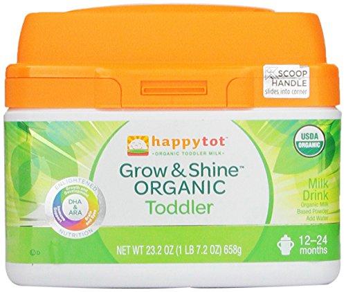 Feliz Tot crecer y brillar niño orgánicos leche, onza 23,2