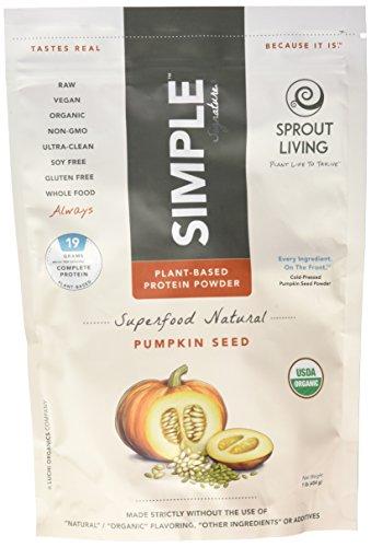 Brotar la vida polvo de proteína de semilla de calabaza, 1 lb