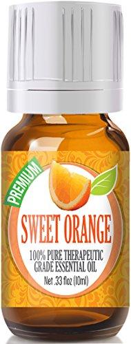 Naranja dulce - 100% grado terapéutico mejor, puro aceite esencial - 10ml
