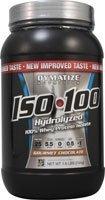 Dymatize ISO100 hidrolizado 100% Whey proteína aislado Gourmet Chocolate--1,6 libras
