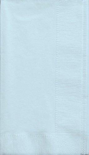 Toque creativo conversión de servilletas de colores 2 capas 50 cuenta papel cena, Pastel azul