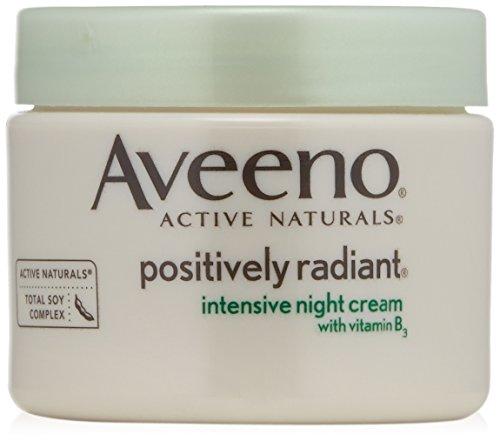 Crema de noche intensiva positivamente radiante de Aveeno, 1,7 onzas