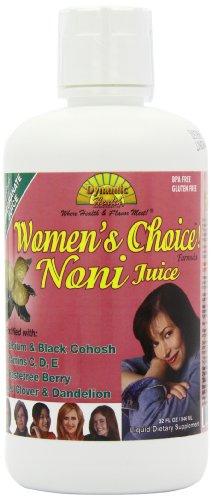 Elección de las mujeres salud dinámica, Noni jugo de fórmula, 32 onzas