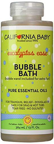 California Baby baño aromaterapia, 13 oz (facilidad de eucalipto (para alivio de tranquilo))