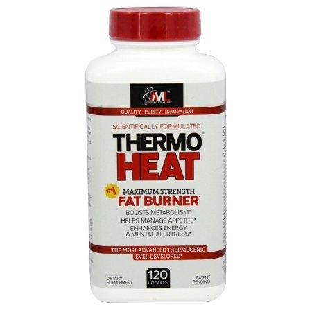 Advanced Molecular Labs - ThermoHeat Maximum Strength quemador de grasa - 120 Cápsulas