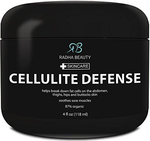 Celulitis crema 4 oz - mejor contra la celulitis gel-crema, adelgazante y reafirmante gel con acción termogénica - también es ideal para la relajación muscular y masaje de cuerpo - contiene todos los ingredientes naturales