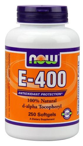 AHORA alimentos E-400, 250 cápsulas
