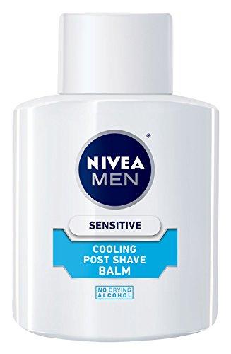 NIVEA FOR MEN sensible enfriamiento Post Shave bálsamo, 3.3 oz botella (paquete de 3)