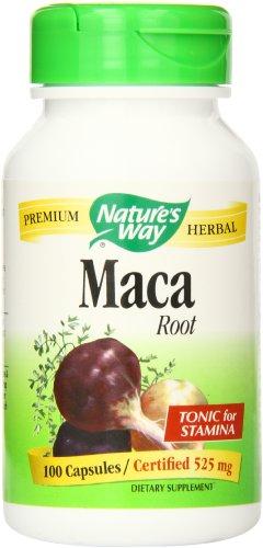 Forma raíz de la naturaleza de Maca, 525 mg., 100 cápsulas
