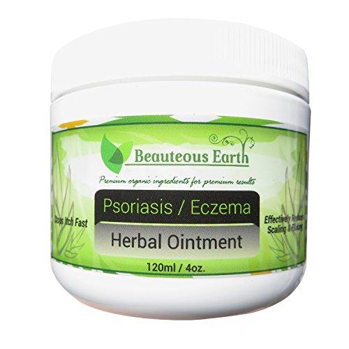Psoriasis / eccema ungüento Herbal - 100% todo Natural - con certificación orgánica y Natural Premium todos los ingredientes para obtener resultados de Premium - Paraben libre - mejor tratamiento de Eczema - mejor tratamiento de la Psoriasis