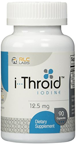 IThroid RLC Labs - 12,5 mg - 90 cápsulas