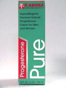 La progesterona pura 2 oz