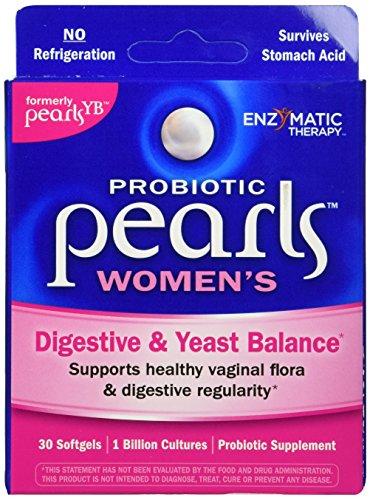 Terapia enzimática perlas levadura equilibrio probióticos tapas, 30 ct