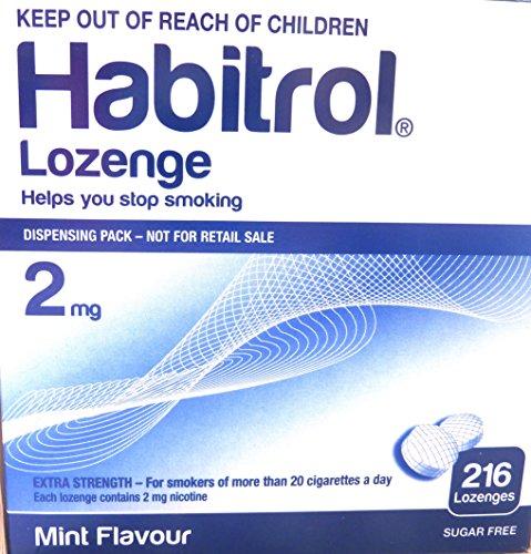 Habitrol nicotina pastilla menta sabor 216 tabletas (2mg)