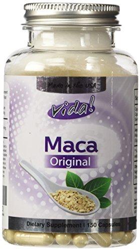 La Maca Original - 4:1 extracto (equivalente de 2000mg) 500 mg x 150 Cápsulas