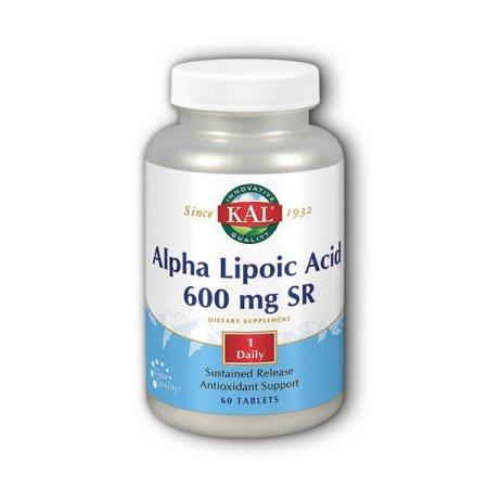 El ácido alfa lipoico 600 mg SR Kal 60 Tabs