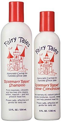 Hadas cuentos Romero repeler Creme Shampoo, 12 fl.oz. + Acondicionador, 8 fl.oz.