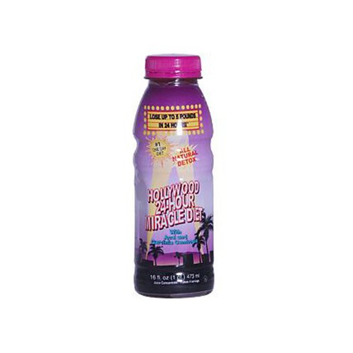 Dieta de Hollywood Hollywood limpia hierbas 24 horas dieta milagro--16 fl oz