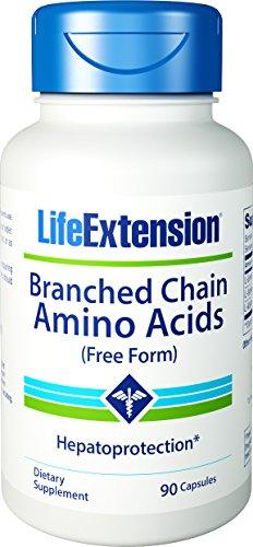 Extensión de la vida ramificada aminoácidos de cadena, cuenta 90
