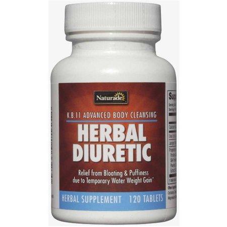 Naturade Herbal Diurético, 120 CT