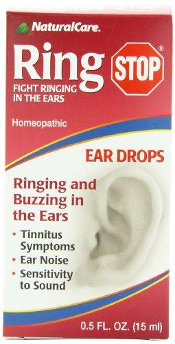 NaturalCare Ringstop Ear Drops, 0.5 onzas