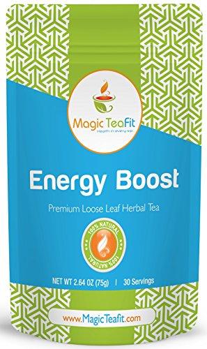 Selecciones Energy Boost y té de Teatox de la pérdida de peso - de calidad superior, sabrosas, Natural, orgánicas, aumento de metabolismo y apetito Control té de magia Teafit