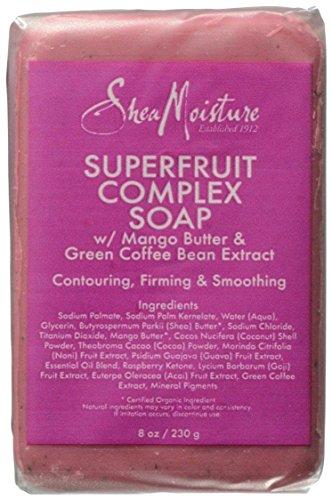 Jabón complejo de SheaMoisture superfruta - 8 oz