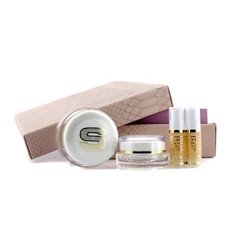 Anti-Edad Prestige Kit-  50ml un Global Anti-Edad Crema -  Ojos y un contorno de los labios 15ml - 5ml un elixir  x 2 4pcs