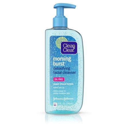 Clean - Clear Ráfaga mañana desintoxicante Limpiador facial para piel clara 8 fl. Onz.