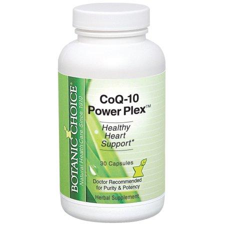 Botanic Choice CoQ10 Poder Plex, 30 Ct
