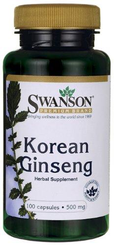 Ginseng coreano 500 mg 100 Caps