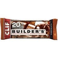 Barra de Clif Builder barra Chocolate - 2,4 oz (valor a granel multi-pack)