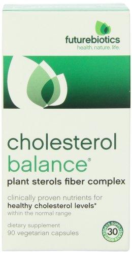 Futurebiotics colesterol equilibrio Veg-cápsulas, 90-Conde