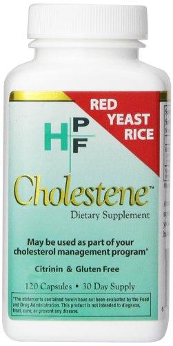 Suplemento dietético de HPF Cholestene, 120 cápsulas