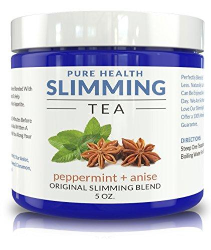 Mi Chef de la dieta a base de hierbas peso pérdida té - adelgazar inhibidor del apetito y la bebida de desintoxicación con menta y anís estrellado. 50% más con el nuevo empaquetado.