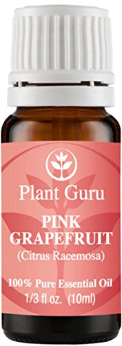 Aceite esencial de pomelo (rosa). 10 ml. 100% puro, sin diluir, terapéuticas grado.