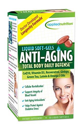 Aplicada nutrición corporal Total anti-aging Daily Defense, cuenta 50