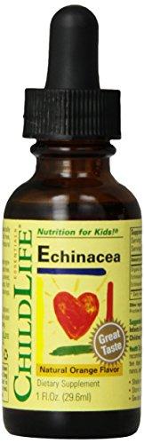 Niño vida Echinacea, botella de cristal, 1 onza