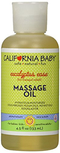 Eucalipto facilidad masaje aceite 4,5 oz