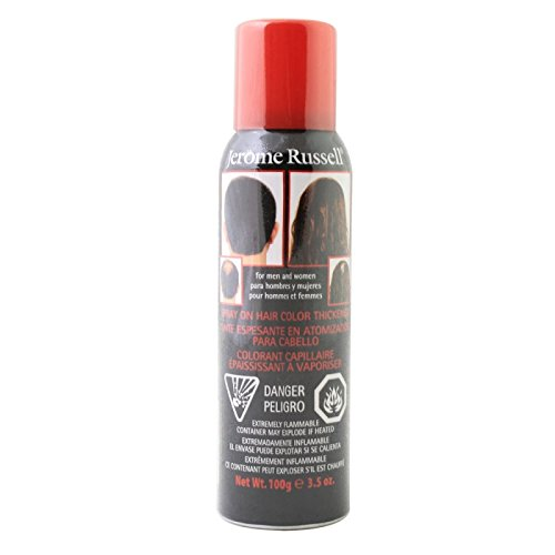 Odysseus - Jerome Russell en Spray de pelo Color espesante Spray 3.5 Oz marrón medio