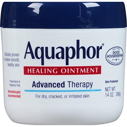 Ungüento curativo de Aquaphor, seco, agrietado e irritada piel Protectant, 14 onzas