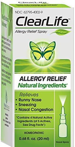 Aerosol Nasal de alergia ClearLife, Onza 0,68