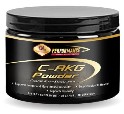 Laboratorio olímpico C-AKG - (creatina-Alfa-Ketoglutarato), 90-gramos